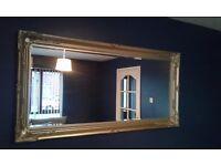 6ft gold mirror