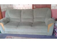 sofa - 3 seater and electric reclining armchair
