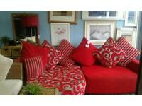 New dfs stunning corner sofa delivery free bargain