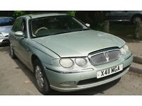 2001 Rover 75 1.8 Classic SE 4dr green manual HES SCF BREAKING FOR SPARES