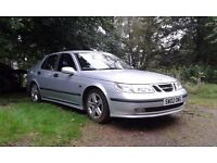 Saab 9-5 Aero Manual Saloon ( petrol ) 250 hp makes this a very special car. Very tidy for its age