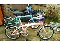 Summer 'Bella' Folding Cycle