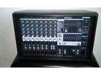 Yamaha EMX212S 400 Watt Stereo Powered Mixer Amp in Very Good Condition