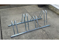 Cycle Storage Rack for up to 4 Bikes - Can be bolted to ground