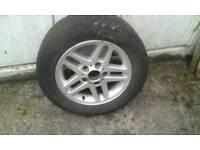 4 BMW 15 inch wheels