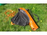 FLYMO LEAF BLOWER AND VAC ELECTRIC