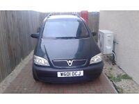 Vauxhall zafira:spares or repairs
