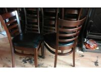 """""""Bargain"""" Joblot Restaurant cafe pub chairs & tables contract furniturehi we"""