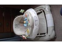 Child car rocker & walker