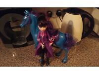 Monster High Miss Goodblood and horse