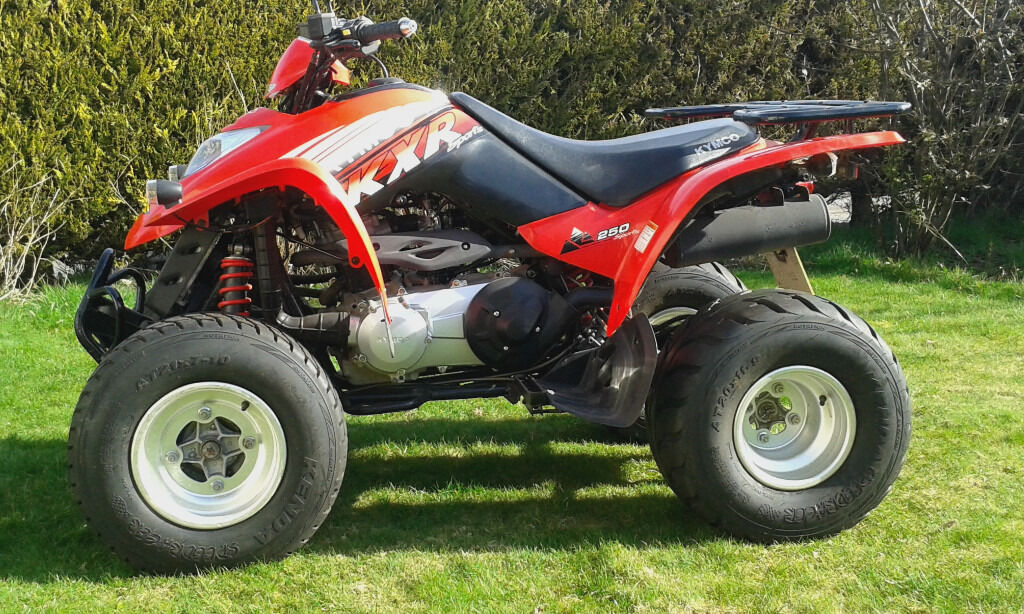 quad bike atv kymco kxr 250 2005 in westhill aberdeenshire gumtree. Black Bedroom Furniture Sets. Home Design Ideas