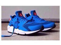 LT Blue & DK Blue Nike Trainers Brand New
