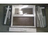 A brand new double glazed UPVC window for £145 + VAT