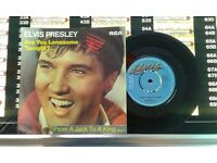 Elvis Presley – Are You Lonesome Tonight ?, VG, released on RCA in 1982, Cat No RCA 196.