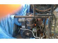 high power water jetting machine