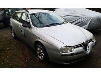 Alfa Romeo 2.4 JTD Sportwagon 2002 Diesel 102k miles Leather seats (A ton of receipts from services)