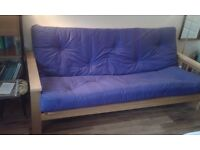 Second hand futon in good condition for sale (£400 new)