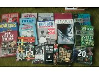 Collection of 17 film books