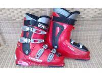 Head Cyber Ski Boots Size 8 Autowalk System