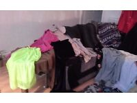 two bags of ladies clothes sizes 12 & 14