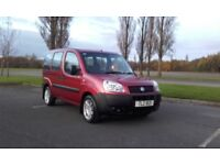 2007 fiat doblo 1.4 petrol wheelchair accessible f/s/h