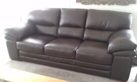 Leather Sofa 3seater