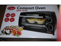 BARGAIN! USED ONCE! BARGAIN!! Compact Oven Home cooker Student