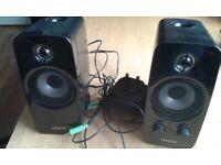 Creative Inspire T10 2.0 Speakers - Black