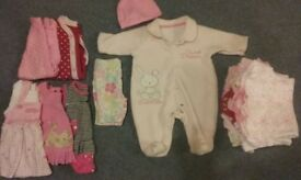 9lbs 4.1kg girls clothes