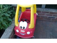 Two Little Tikes cars for sale