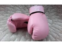 Ryoku,Pink, Boxing Gloves. Small Size.