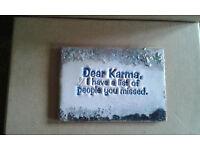 Fridge or office magnets HUMOROUS created using heat enamelling on MDF