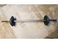 15 kg short bar