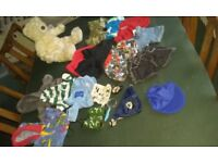 Bear Factory Teddy Bear with Build A Bear Clothes and Accessories
