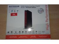 Netgear N600 Wireless Dual Band Gigabit Router.