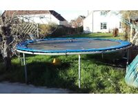 15ft Trampoline new top 2years ago