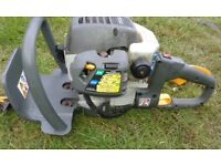 henge trimmer ryobi petrol starts and runs spares or repairs