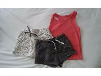 child shorts and top (4yo)