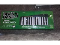 Rock band 3 keyboard Xbox 360