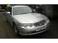 2002 Rover 75 2.0 CDT club SE estate tourer silver MBB LBB BREAKING FOR SPARES