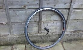 Campagnolo Zonda front road bike wheel 700c VGC S&R