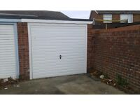 Garage for rent Great Clacton, end garage in a block £55PM no electric