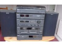 Complete Sony stereo system