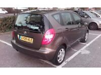 Mercedes Benz A class for sale, MOT till April 2018, Automatic car. 3 owners, Brown, £3,500