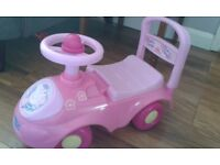 Peppa pig ride on toy