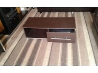 Brown tv cabinet