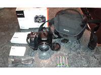 SONY H300 Bridge Digital camera (used twice; in original box)