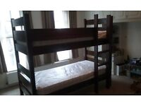 Warren Evans' children's bunk beds. Good condition. £125.