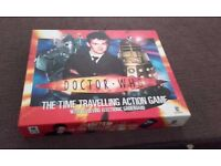 Dr Who action board game