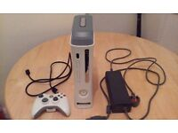 Xbox 360 + 60GB hard drive + Wireless controller + PSU + HDMI Cable